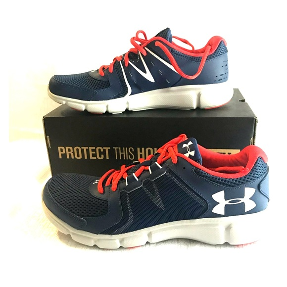 competitive price 6d296 0033d Under Armour UA Thrill 2 blue/white NBW sz 10.5 NWT